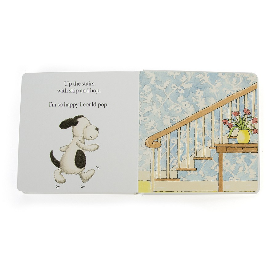 Jellycat, Puppy Makes Mischief Book