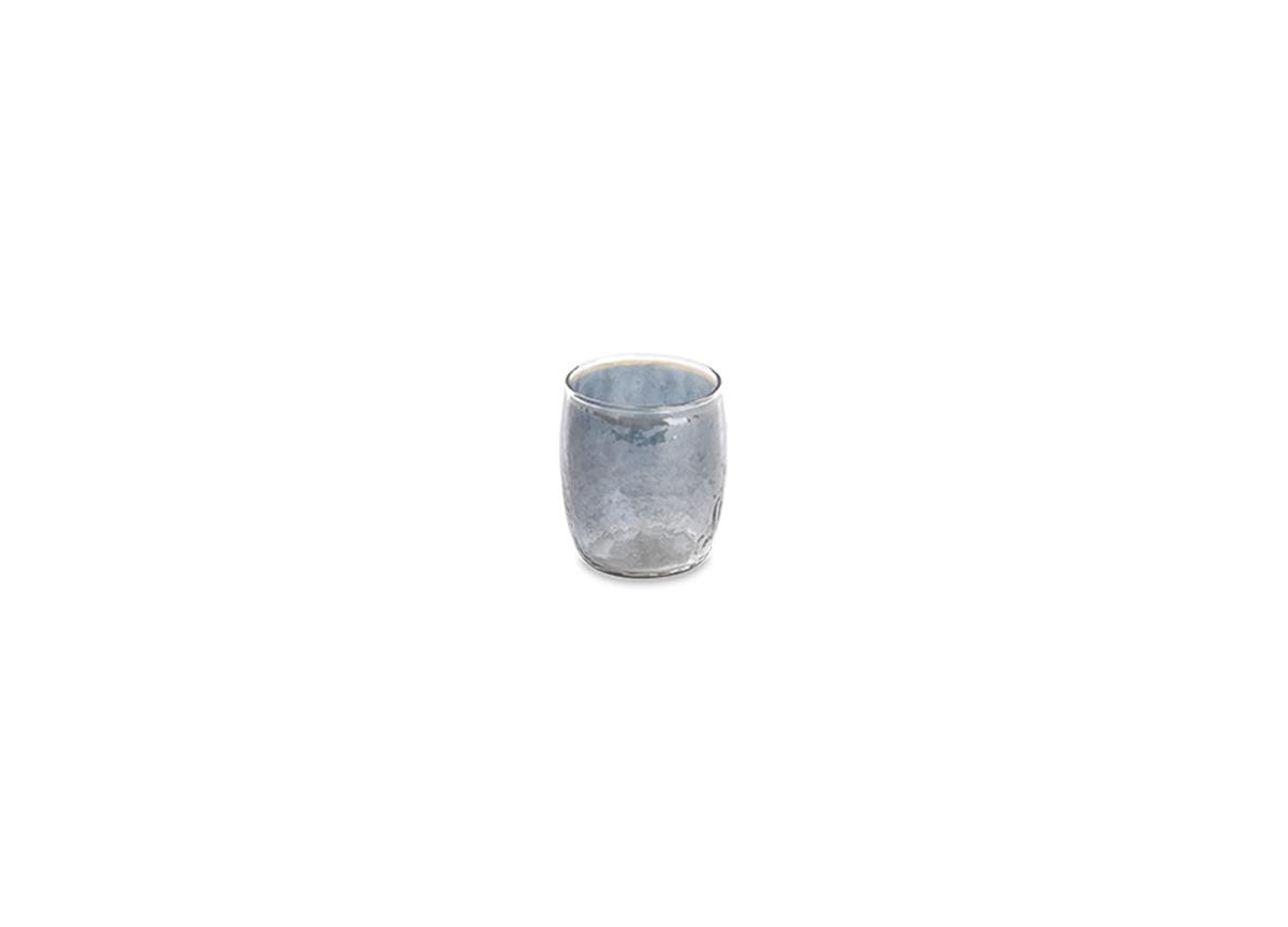 Ozari Glass Tumbler - Aged Silver