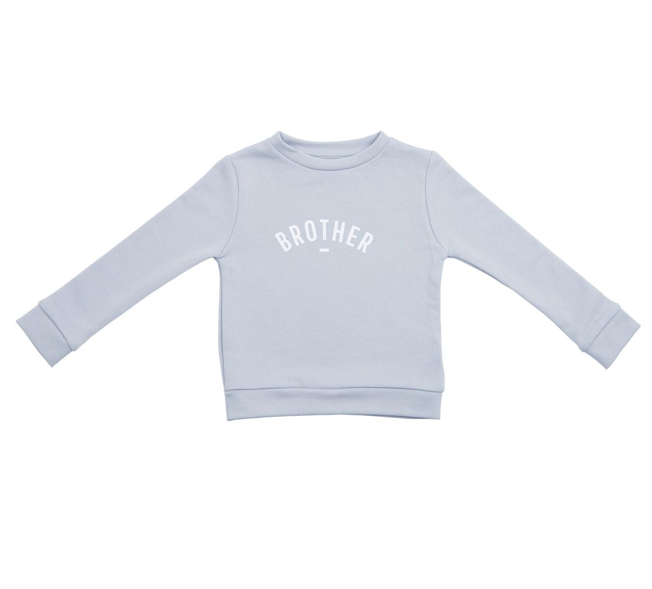 'Brother' Sweatshirt - Mouse Grey