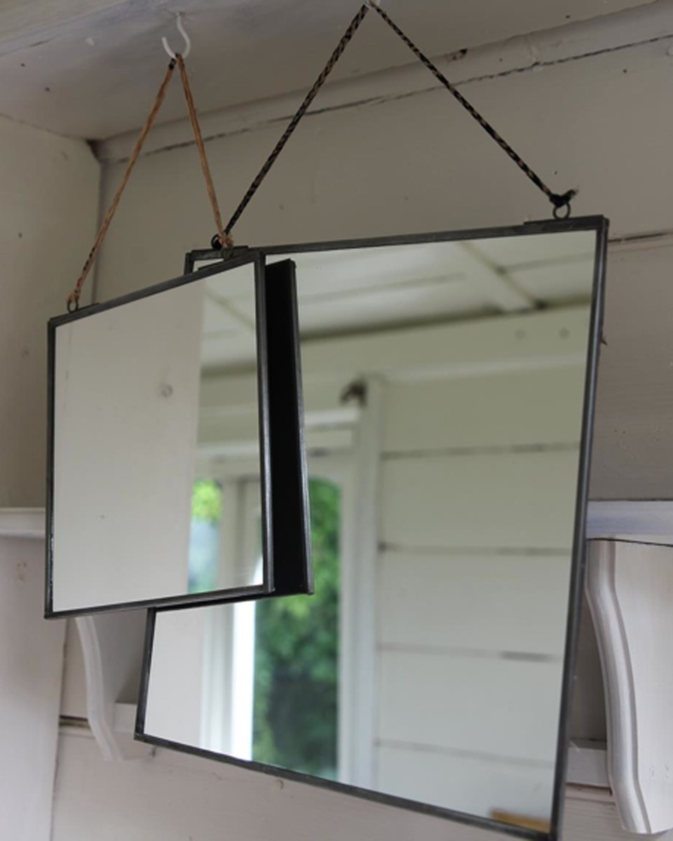 Nkuku, Kiko Antique Zinc Mirror