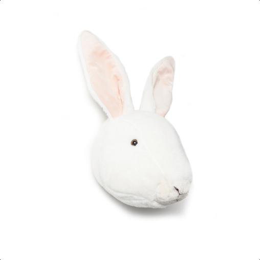 "Wild & Soft, Plush ""Alice"" Rabbit Animal Head"