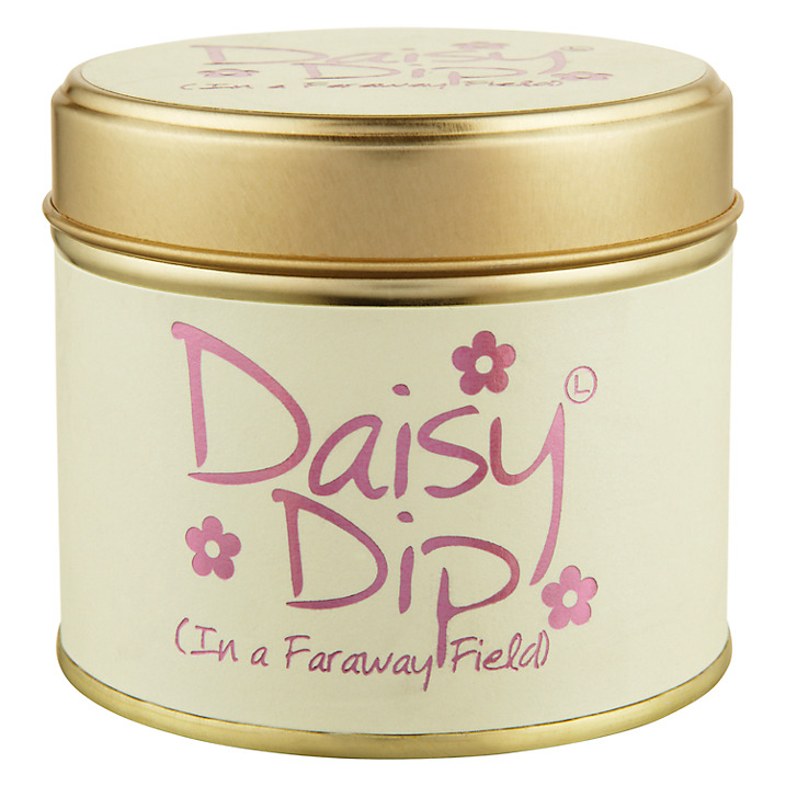 """Lily Flame """"Daisy Dip"""" Scented Candle Tin"""