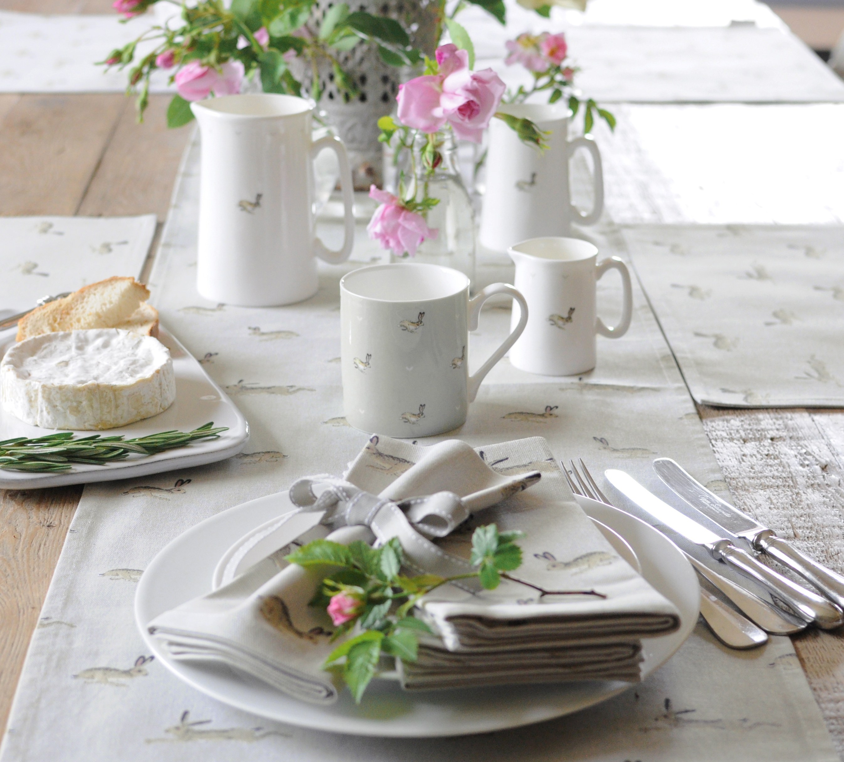 Sophie Allport, Hare Teacup and Saucer