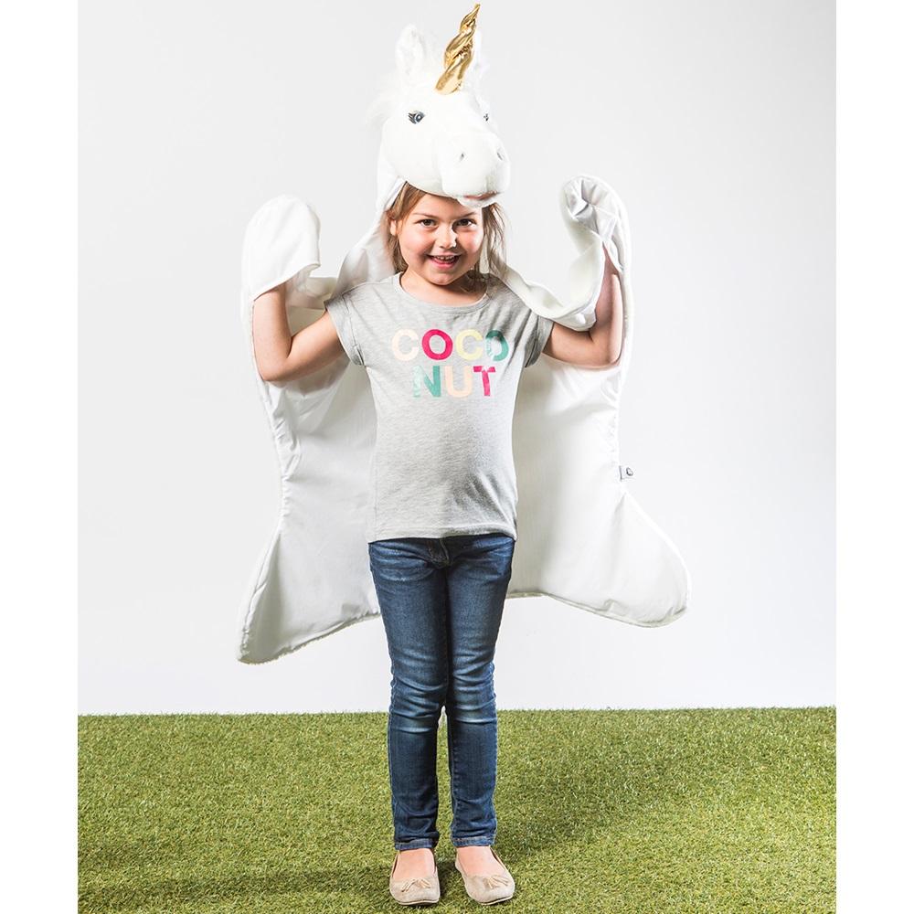 Wild & Soft, Unicorn Animal Disguise, White