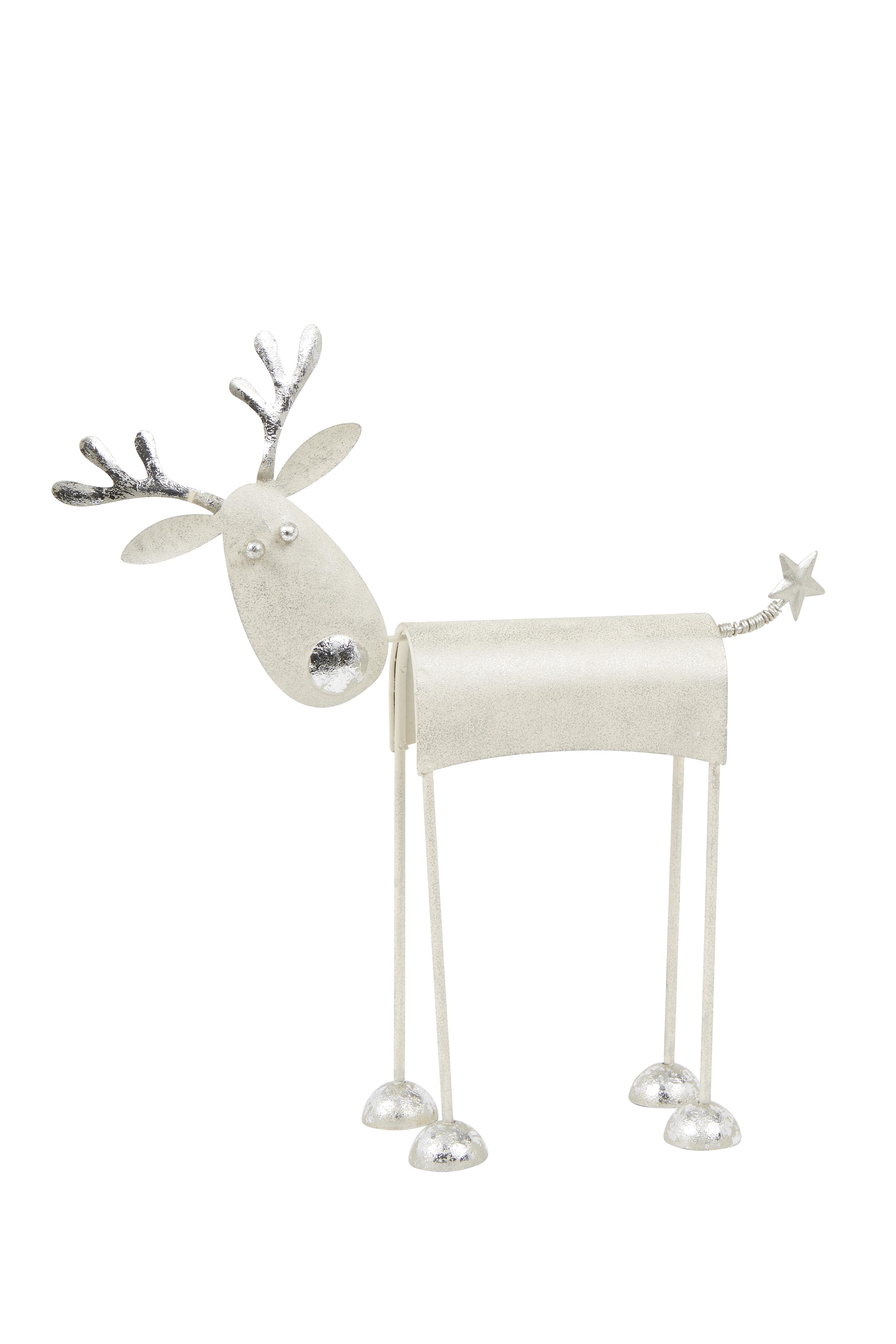 White Nordic Large Reindeer