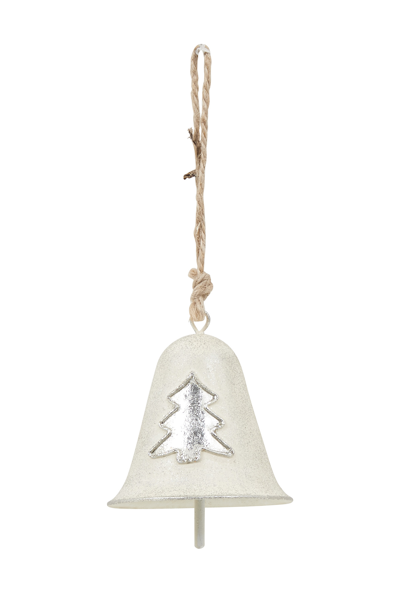 Nordic White & Silver Hanging Bell