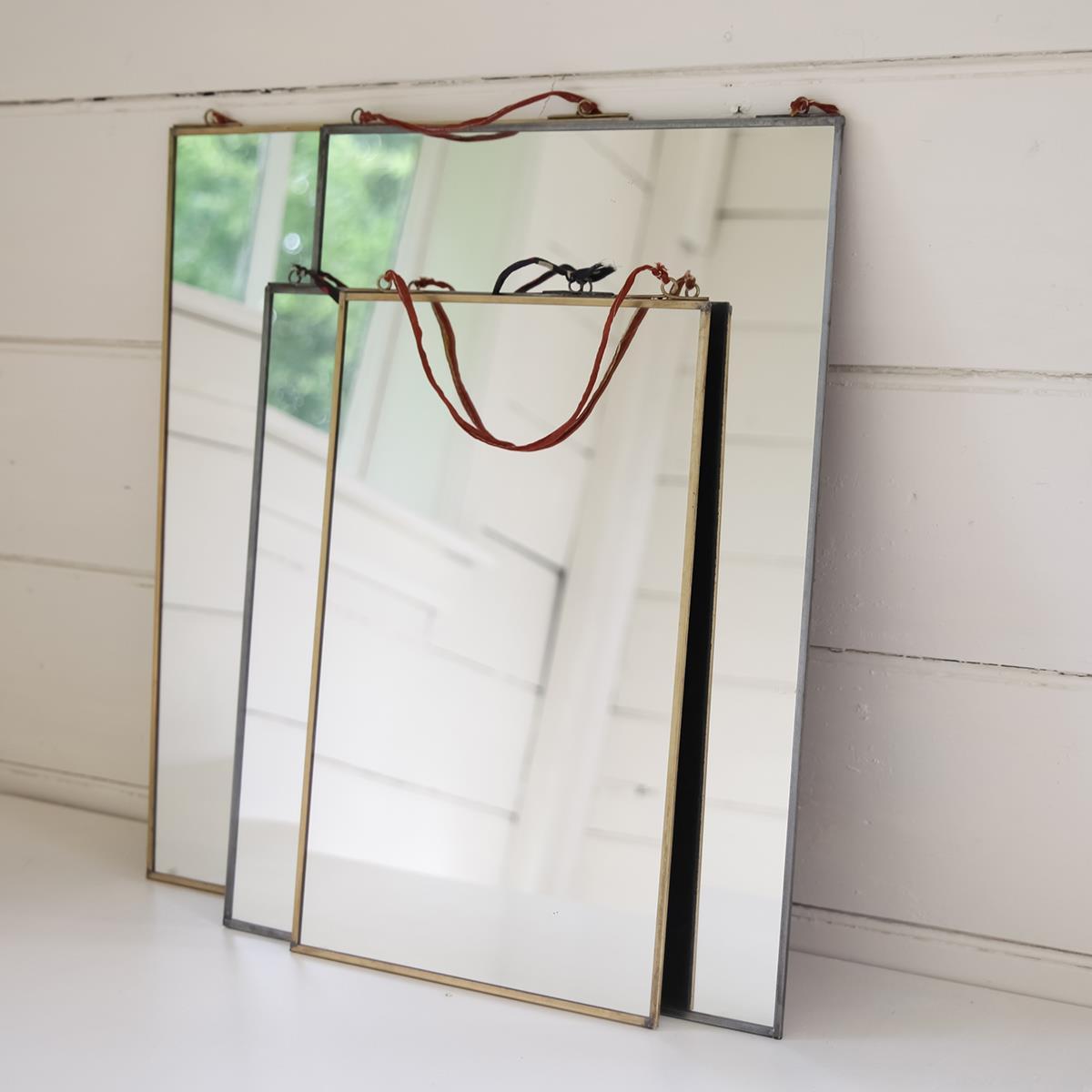 Nkuku, Kiko Antique Zinc Mirror