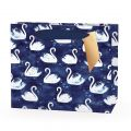 Hotchpotch Swan Lake Luxury Blue Swan Gift Bag