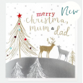 Caroline Gardner Mum & Dad Deer Christmas Card
