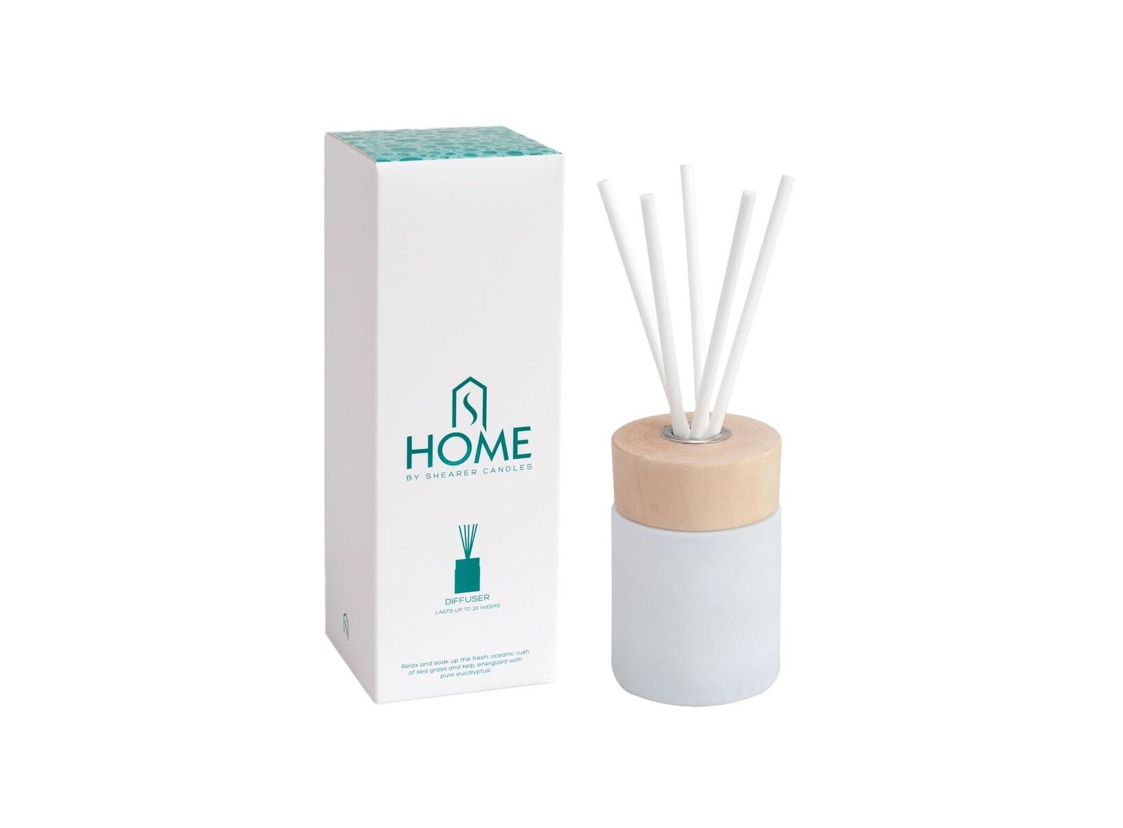Shearer Home Bathroom Reed Diffuser Boxed Limetree Lifestyle