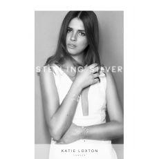 "Katie Loxton Sterling Silver ""Love"" Pave Bracelet"