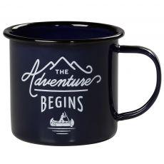 Gentleman's Hardware Blue Enamel Mug