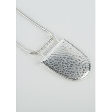 Tutti & Co Shield Necklace, Silver
