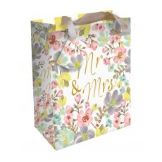"Caroline Gardner ""Mr and Mrs"" Gift Bag - Large"