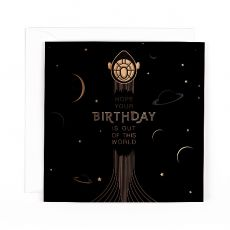 "Hotchpotch Orion ""Out of this World"" Birthday Card"