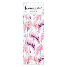 Hotchpotch Swan Lake Pink Flamingos Tissue