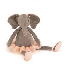 "Jellycat ""Dancing Darcey"" Elephant Teddy"