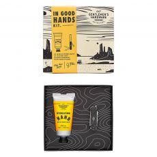 """Gentleman's Hardware """"In Good Hands"""" Moisturiser & Manicure Kit"""