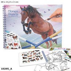 Horses Dreams Colouring Book
