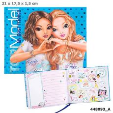 Top Model Friendship Book - Blue