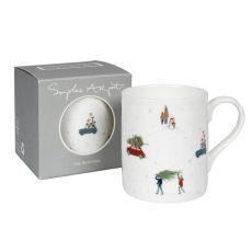 'Home for Christmas' Mug