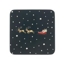'Home for Christmas' Coasters (Set of 4)