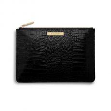 Katie Loxton Celine Croc Perfect Pouch - Black