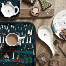 'Home for Christmas' Spoon Rest