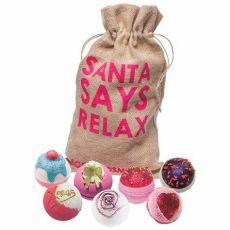 Bomb Cosmetics Santa Says Relax Santa Sack