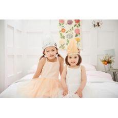 Bob & Blossom White Chiffon Tutu Dress