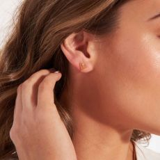 Joma Florence Outline Heart Earring Set