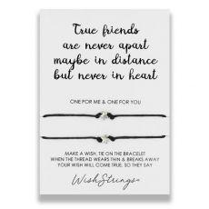 """Wishstrings """"True Friends"""" Wish Bracelet"""