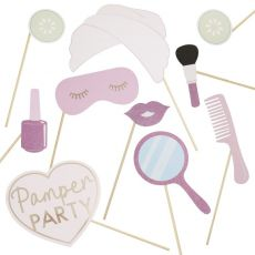 Ginger Ray Pamper Party Photo Booth Props