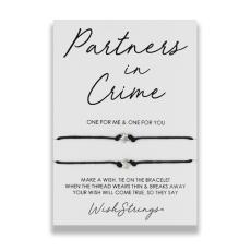 "Wishstrings ""Partners in Crime"" Wish Bracelet"