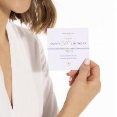 "Joma A Little ""Happy 30th Birthday"" Bracelet"