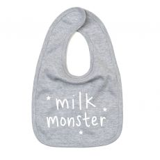 "Megan Claire ""Milk Monster"" Baby Bib"