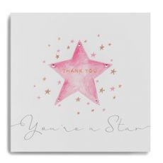 "Janie Wilson ""You're a Star"" Thank You Card"