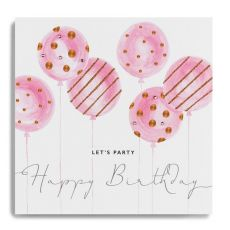 "Janie Wilson ""Let's Party"" Birthday Card"