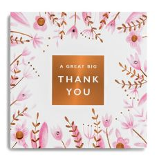 "Janie Wilson ""A Great Big Thank You"" Card"