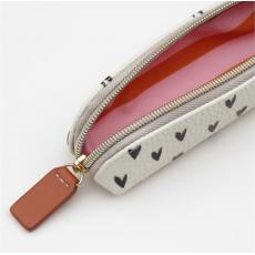 Caroline Gardner Mini Hearts Essential Pencil Case