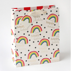 Caroline Gardner Rainbow Gift Bag - Large