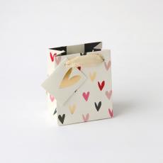 Caroline Gardner Scattered Hearts Gift Bag - Small