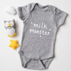 "Megan Claire ""Milk Monster"" Baby Grow"