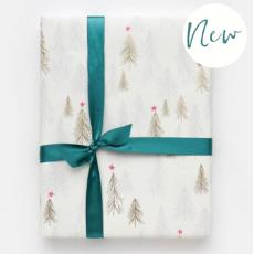 Caroline Gardner Christmas Trees Gift Wrap Sheet