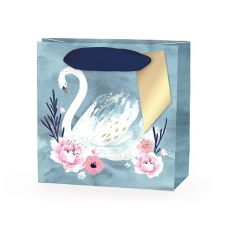 Hotchpotch Swan Lake Pale Blue Swan Mini Gift Bag