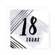 "Hotchpotch Luxe ""18 Today"" Birthday Card"