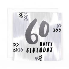 "Hotchpotch Luxe ""60"" Happy Birthday Card"