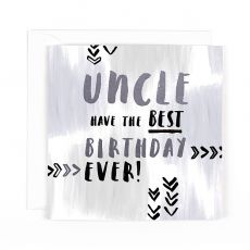 "Hotchpotch Luxe ""Uncle"" Birthday Card"