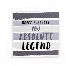 "Hotchpotch Luxe ""Absolute Legend"" Birthday Card"