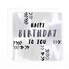 "Hotchpotch Luxe ""Happy Birthday To You"" Birthday Card"